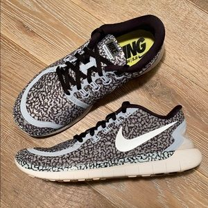 Nike Free 5.0 Leopard Running Shoes